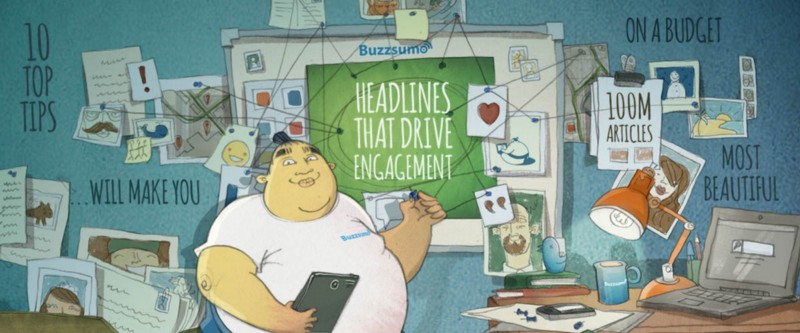 Buzzsumo's research on headlines that drive engagement