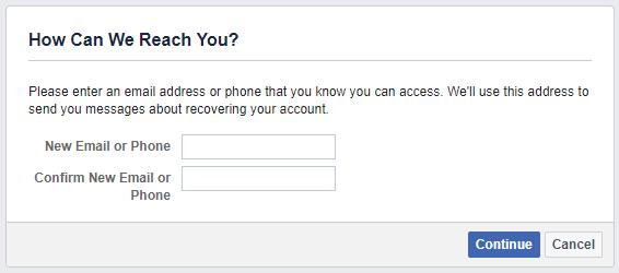 استرجاع حساب فيس بوك Facebook