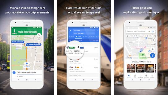 Google Maps and Waze