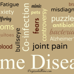 History Of Chronic Pain Think Lyme Disease NO text