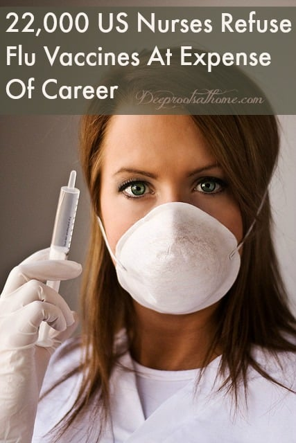 22,000 US Nurses Refuse Flu Vaccines At Expense Of Career, shaming, coercive tactics, annual flu shots, mandatory flu shots, CDC, wear face mask, research, ineffective flu vaccines, influenza vaccine, not vaccinated, hospital patients, conflict of interest, lose your job, Medicare/Medicaid funding, Circle of Docs, fighting back, suing hospital, loss of constitutional rights, Dreonna Breton, registered nurse, pregnant, fired,Nurses Against Mandatory Vaccines, NAMV, pro-vaccine, anti-vaccine, vaccine choice,Equal Employment Opportunityviolation, workplace, human rights violation, death from medical errors, money train, big pharma, greed, health care workers, refuse a vaccine