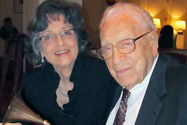 George Beverly Shea and his wife Karlene