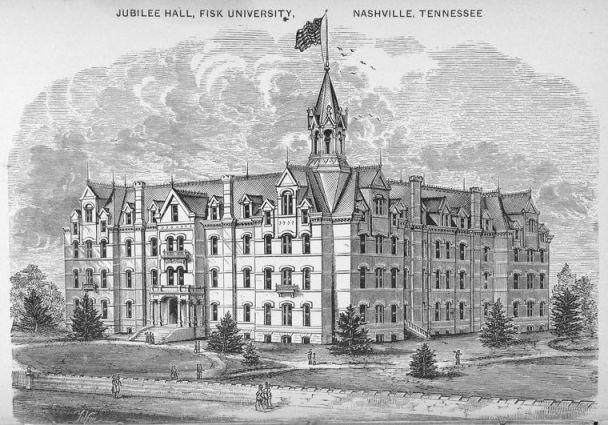 Jubilee Hall, Fisk University, Nashville, TN, 1873