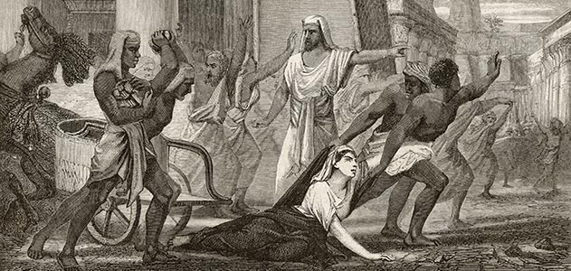 On the streets of Alexandria, Egypt, a mob led by Peter the Lector brutally murdered Hypatia, one of the last great thinkers of ancient Alexandria. (Mary Evans Picture Library/Alamy)