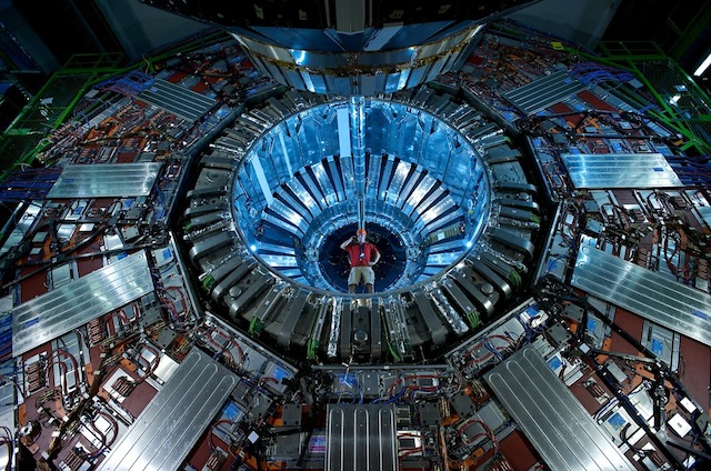 Another view inside the Large Hadron Collider