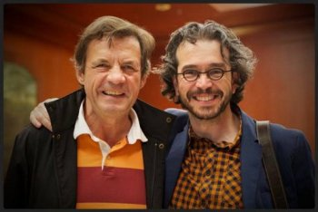 With Peter Sís at a USBBY conference in St. Louis