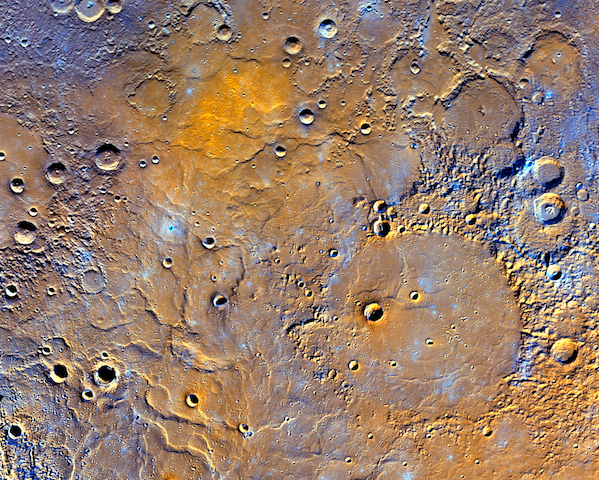 mercury-craters
