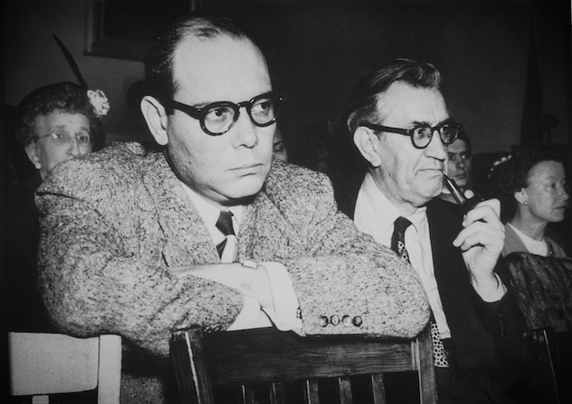 Paul Jarrico, the first screenwriter to be taken to court by a studio (RKO) over the question of his firing during the blacklist period, during his questioning by the HUAC in 1951. Jarrico had engaged in a protracted legal battle with Howard Hughes, the head of RKO. In 1950, while working on his newest script for the Howard Hughes film, The White Tower, a friend close to Jarrico gave his name to the House Un-American Activities Committee. Immediately upon hearing the news of Jarrico's subpoena, Hughes dismissed Jarrico from the film. After refusing to testify before HUAC, Jarrico was blacklisted and his passport was confiscated. No American studios were willing to make his scripts into movies, and he could not go to other countries due to his lack of a passport.[citation needed] In 1954, Jarrico went to New Mexico with fellow blacklisted filmmaker Herbert J. Biberman to creat Salt of the Earth. The film was the only one to be made by blacklisted filmmakers, and therefore became blacklisted itself, making it the only blacklisted film. In spite of the controversy, the film was one of 100 films chosen by the Library of Congress for the National Film Registry in 1992. In 1958, he moved to Europe where he lived for over twenty years. During the 1960s he wrote screenplays under the pseudonym Peter Achilles. On October 28, 1997, he died in a car accident after attending events commemorating the beginnings of the blacklist fifty years earlier. He was 82 years old.
