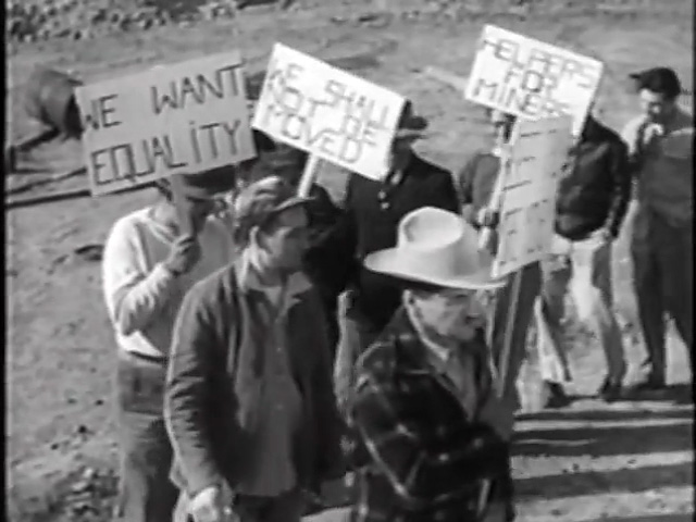 The picket line in Salt of the Earth