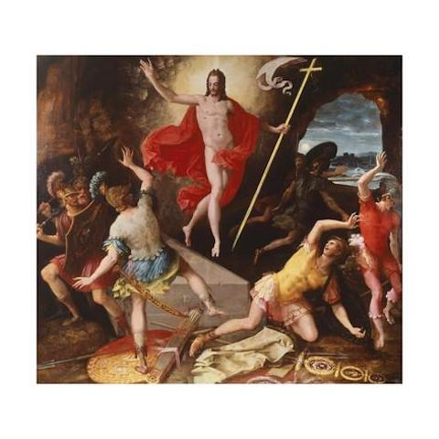 The Resurrection of Christ, attributed to Antoine Caron, circa 1589