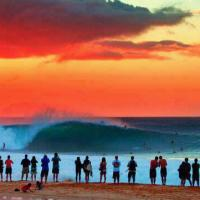 Pipeline Sunset Of Yesterday