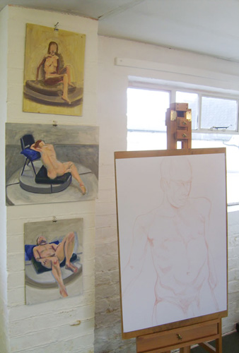 Life drawing classes in Cheltenham