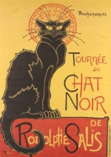 Toulouse-Lautrec - Chat Noir for Rodolphe Salis