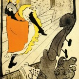 Toulouse-Lautrec - Jane Avril