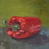 Caroline Payne - Still Life With Red Pepper