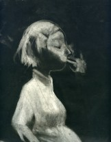 Fumio Obata - Smoking Girl
