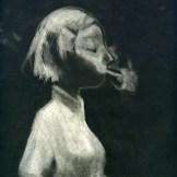 Fumio Obata - Smoking Girl