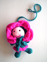 another one of Crafty's beautiful creations,crocheted specially for Namnam