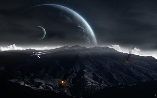 Universe_and_planets_digital_art_wallpaper_dk