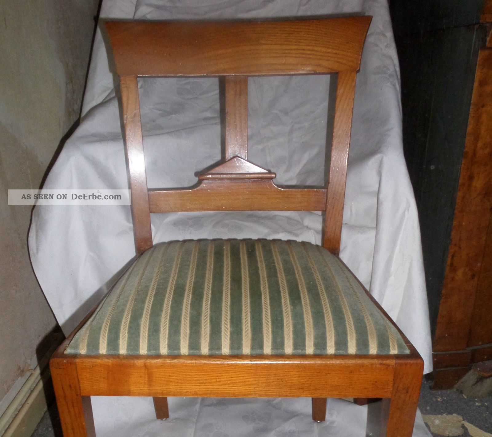 6 Stuhle Gepolstert Sessel Biedermeier