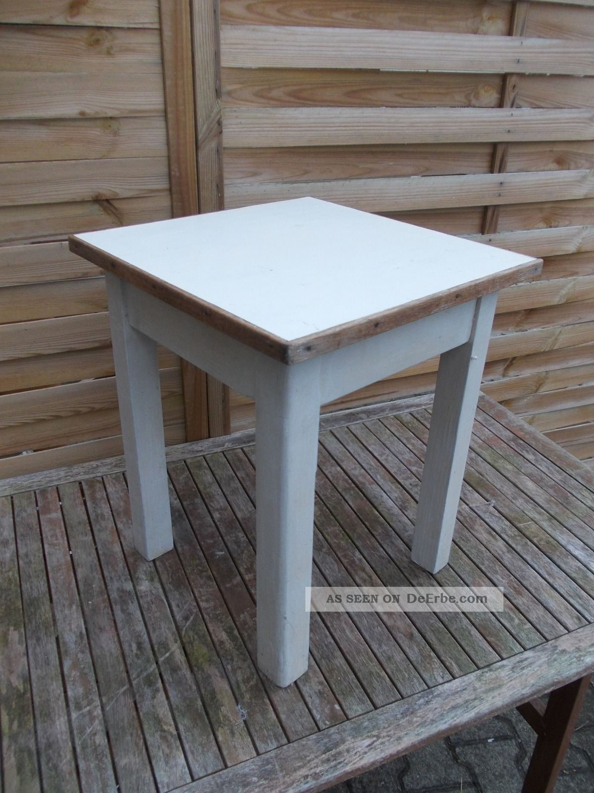 Alter Holz Hocker Alter Stuhl