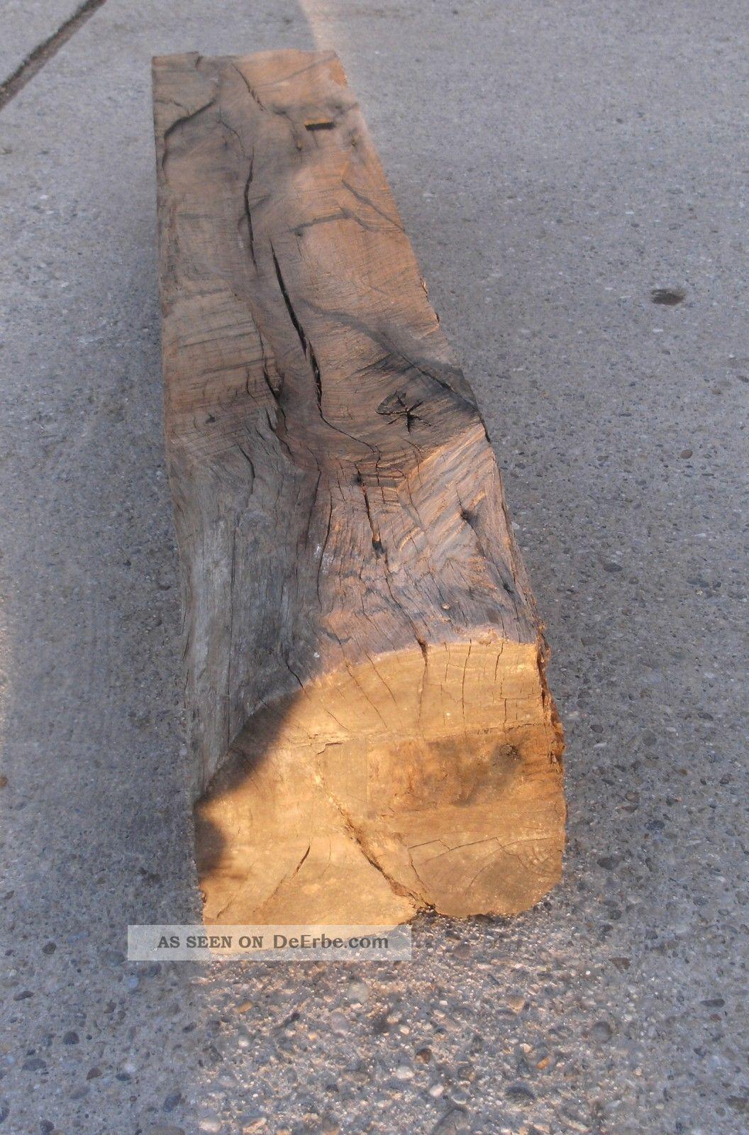 Alter Holzbalken Eichenbalken Eichenholz Holzdekoration