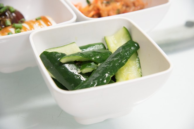 Cucumber Dressed With Sesame Oil (ยำแตงกวา)