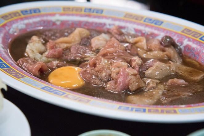 Suki-Yaki with assorted meat 200bht