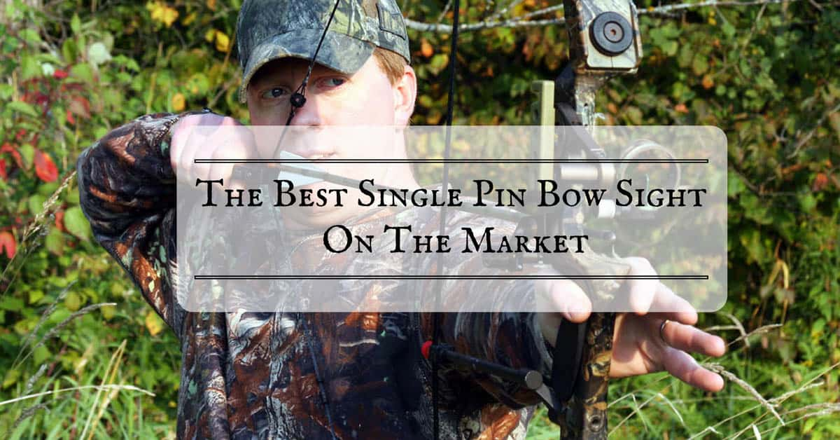 best-single-pin-bow-sight