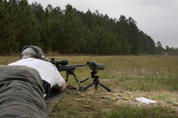 A quiet rifle is a silent prairie killer