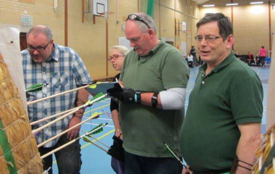 High Quality Longbow Shooting in great company!