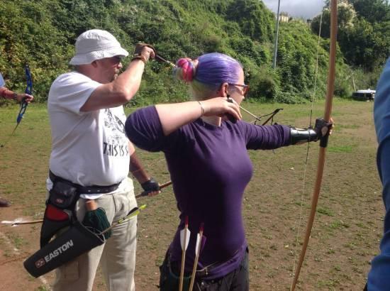Increasing number of longbows in the club.