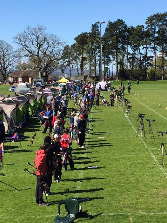 More than 150 top UK archers competed for GB selection, all 4 of our members finished in the top 2 of their categories!