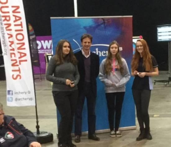 Ella (Left), Rachel (Right) won silver and gold!