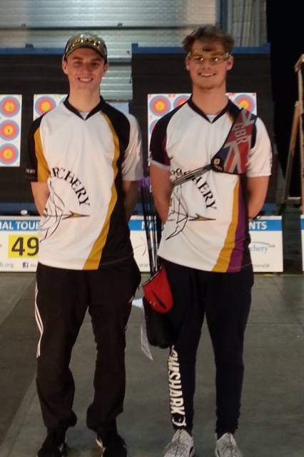 James and Tom Howse  both shot well over the weekend.