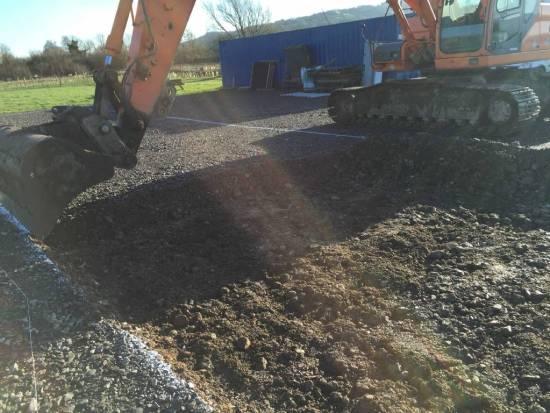 Excavation underway!