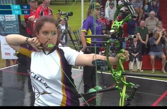 Lucy Mason - Regular for Archery GB Team