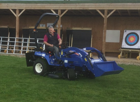 Our New Compact Tractor will make such a difference.
