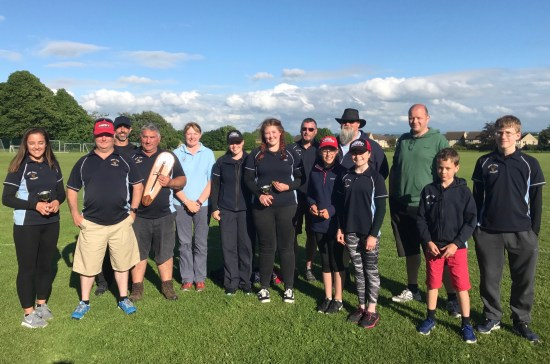 Some of our archers competing at Minchinhampton