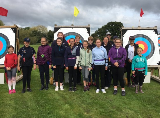 One of our all girls teams, this time for the County Junior Championships.
