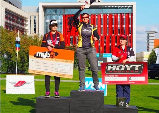 Lucy Mason - another podium finish.