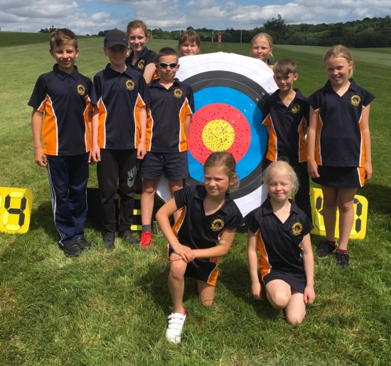 A young Sapperton Team secured Bronze in a shoot off for 3rd place.