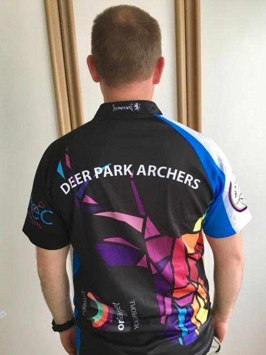 Dan new kit back