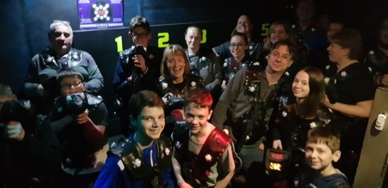 Lazer Tag - Again a real hit!