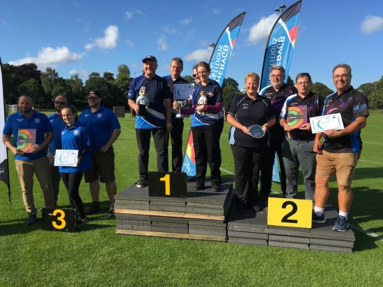 Second in the Ontarget Barebow/Longbow Finals - Well done!