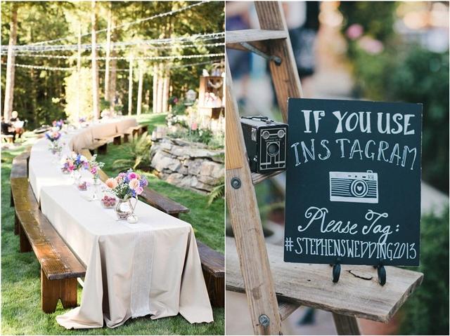 35 Rustic Backyard Wedding Decoration Ideas
