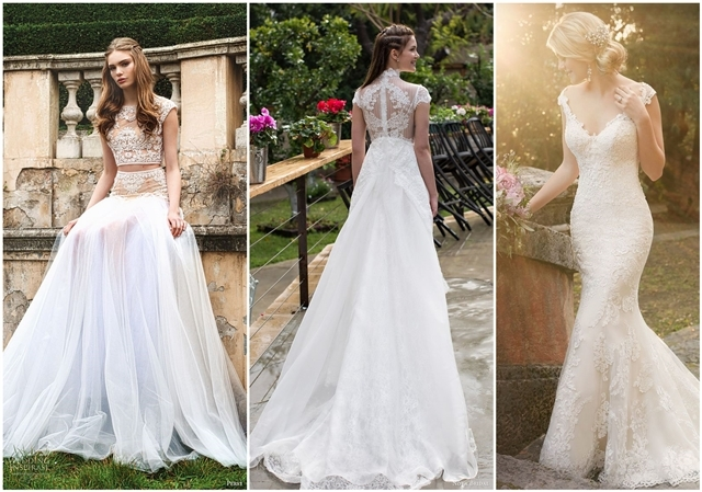 24 Best Wedding Dresses With Cap Sleeves