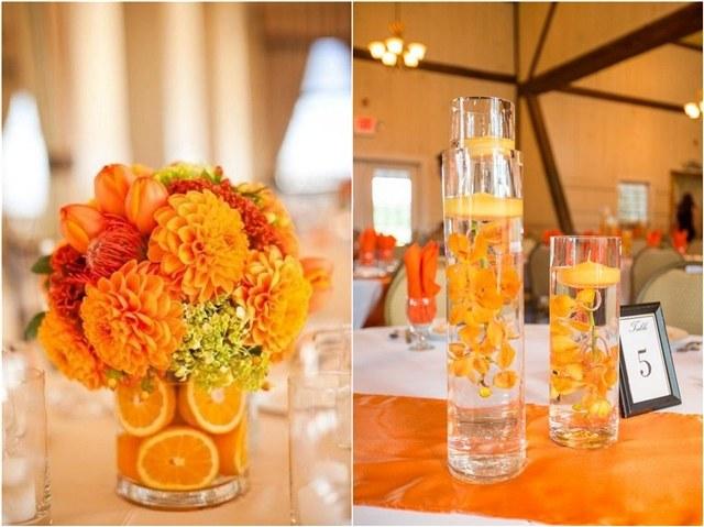 40 Cheerful Fall Orange Wedding Ideas