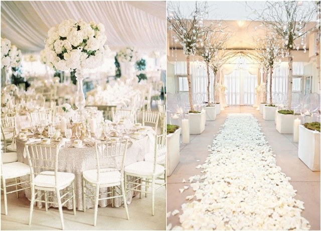 30 White Wedding Ideas That's Turly Timeless