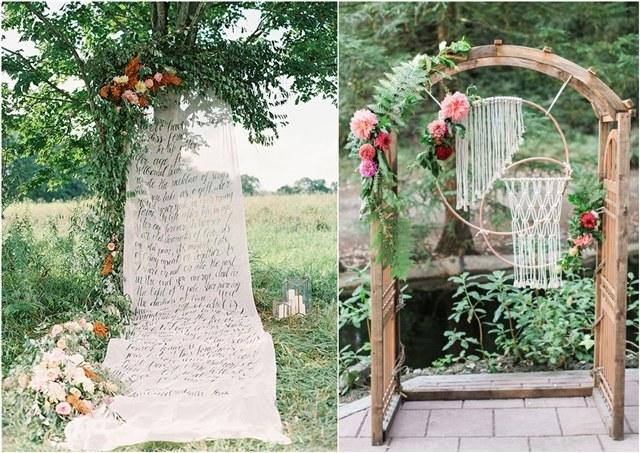 30 + Unique Wedding Backdrop Ideas For 2018